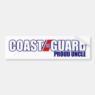 Proud Coast Guard Uncle Bumper Sticker