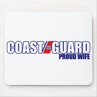 Proud Coast Guard Wife Mouse Mat