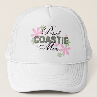 Proud Coastie Mom Camo Trucker Hat