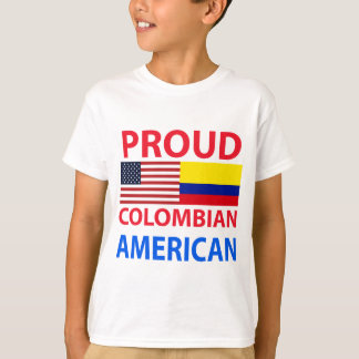 Proud Colombian American T-Shirt