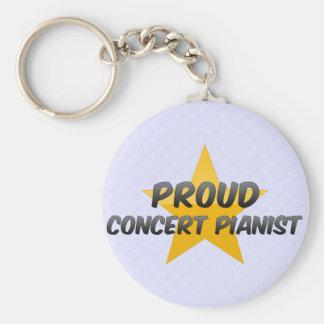 Proud Concert Pianist Keychains