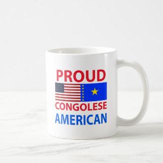 Proud Congolese American Basic White Mug