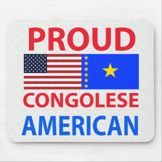 Proud Congolese American Mouse Pad