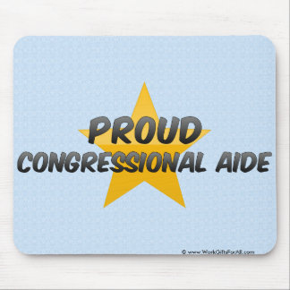 Proud Congressional Aide Mousepads