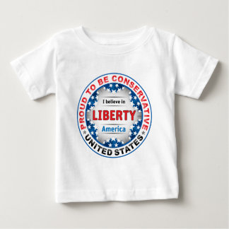 Proud Conservative Baby T-Shirt
