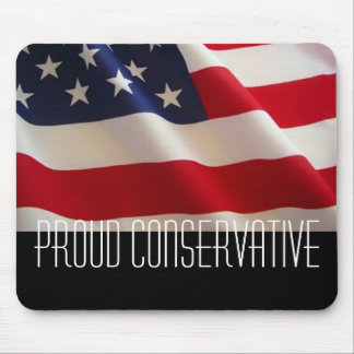 Proud Conservative Mouse Mat