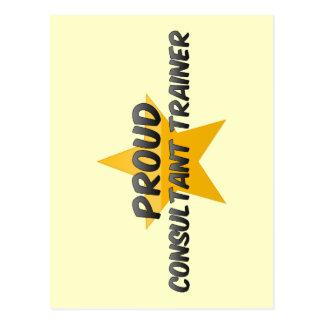 Proud Consultant Trainer Post Cards