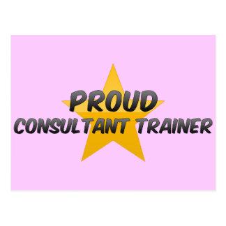 Proud Consultant Trainer Post Card