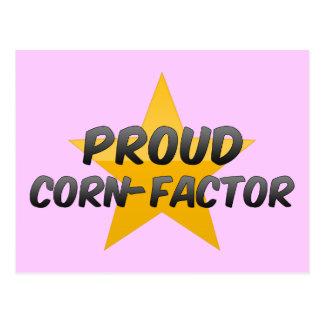 Proud Corn-Factor Postcard