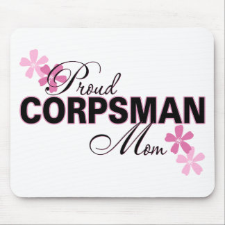 Proud Corpsman Mom Mouse Mat