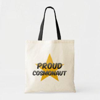 Proud Cosmonaut Canvas Bag