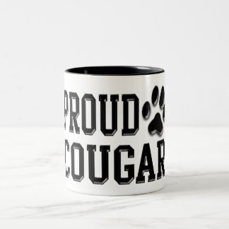 Proud Cougar Two-Tone Coffee Mug