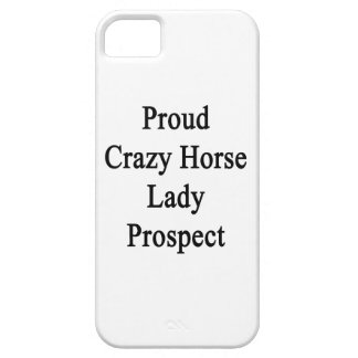 Proud Crazy Horse Lady Prospect Barely There iPhone 5 Case