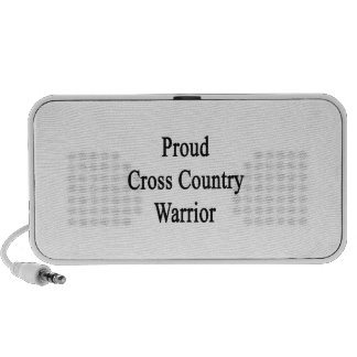 Proud Cross Country Warrior Speaker