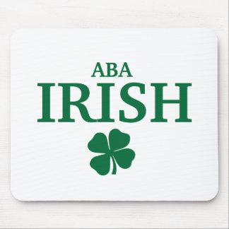 Proud Custom Aba Irish City T-Shirt Mouse Pads