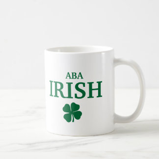 Proud Custom Aba Irish City T-Shirt Basic White Mug