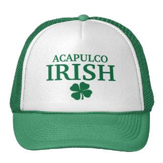Proud Custom Acapulco Irish City T-Shirt Trucker Hat