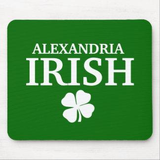 Proud Custom Alexandria Irish City T-Shirt Mouse Pad