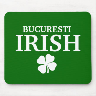 Proud Custom Bucuresti Irish City T-Shirt Mouse Pads