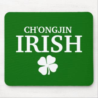 Proud Custom Ch'ongjin Irish City T-Shirt Mouse Pad