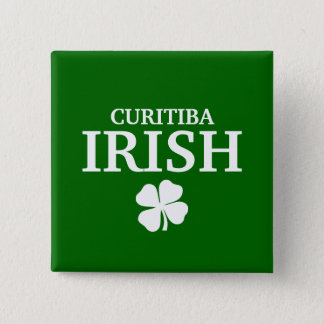 Proud Custom Curitiba Irish City T-Shirt 15 Cm Square Badge