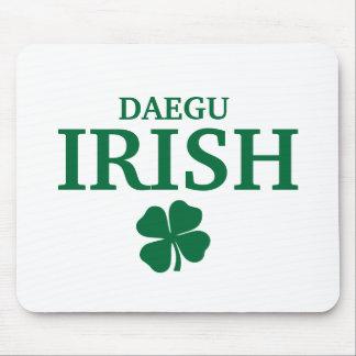 Proud Custom Daegu Irish City T-Shirt Mouse Pad
