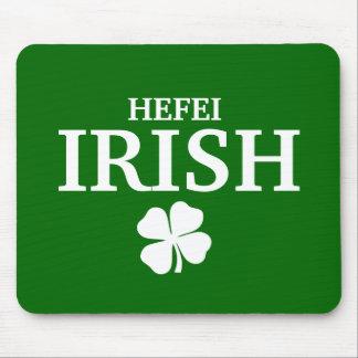 Proud Custom Hefei Irish City T-Shirt Mouse Mats