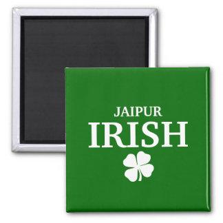 Proud Custom Jaipur Irish City T-Shirt Square Magnet