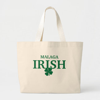 Proud Custom Malaga Irish City T-Shirt Canvas Bag