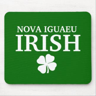 Proud Custom Nova Iguaeu Irish City T-Shirt Mouse Pad