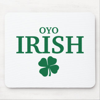 Proud Custom Oyo Irish City T-Shirt Mouse Pad