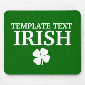 Proud Custom P'yongt'aek Irish City T-Shirt Mouse Pad