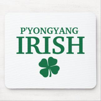 Proud Custom P'yongyang Irish City T-Shirt Mouse Pad