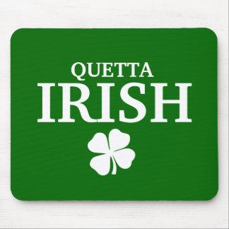 Proud Custom Quetta Irish City T-Shirt Mouse Pad