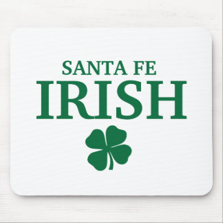 Proud Custom Santa Fe Irish City T-Shirt Mouse Pad