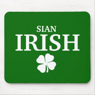 Proud Custom Sian Irish City T-Shirt Mouse Pad