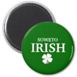 Proud Custom Soweto Irish City T-Shirt Fridge Magnets