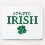 Proud Custom Soweto Irish City T-Shirt Mousemat