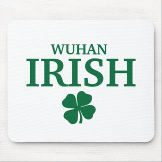 Proud Custom Wuhan Irish City T-Shirt Mouse Mats
