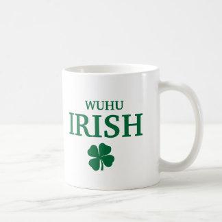 Proud Custom Wuhu Irish City T-Shirt Basic White Mug