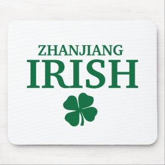 Proud Custom Zhanjiang Irish City T-Shirt Mouse Pad