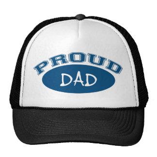 Proud Dad (Blue) Mesh Hats