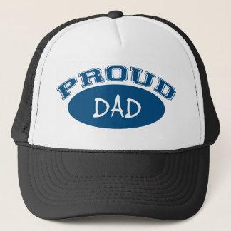 Proud Dad (Blue) Trucker Hat