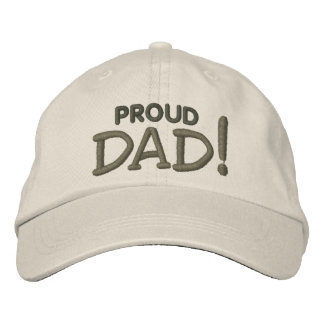Proud DAD! Embroidered Hat