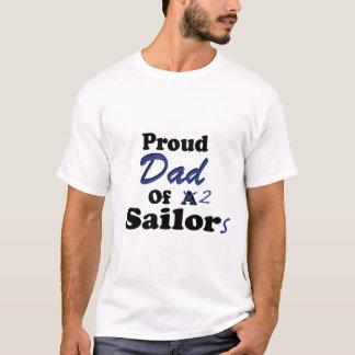 Proud Dad Of 2 Sailors T-Shirt