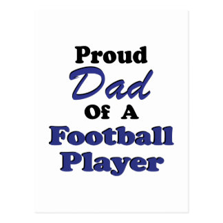 Proud Dad Of A Football Player Post Cards