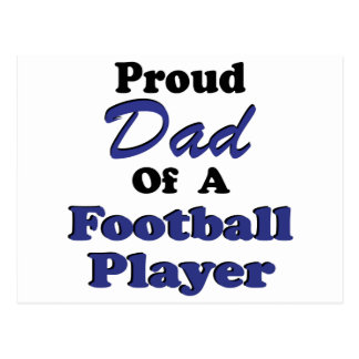 Proud Dad Of A Football Player Post Card