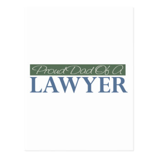 Proud Dad Of A Lawyer Post Card