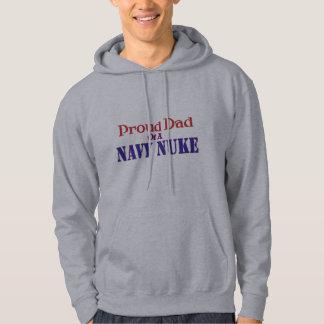 Proud Dad of a Navy Nuke Hoodie