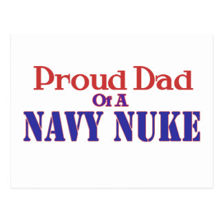 Proud Dad of a Navy Nuke Postcard